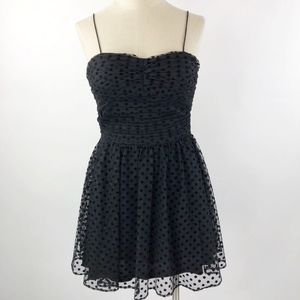 Hailey by Adrianna Papell Polka Fit & Flare Dress